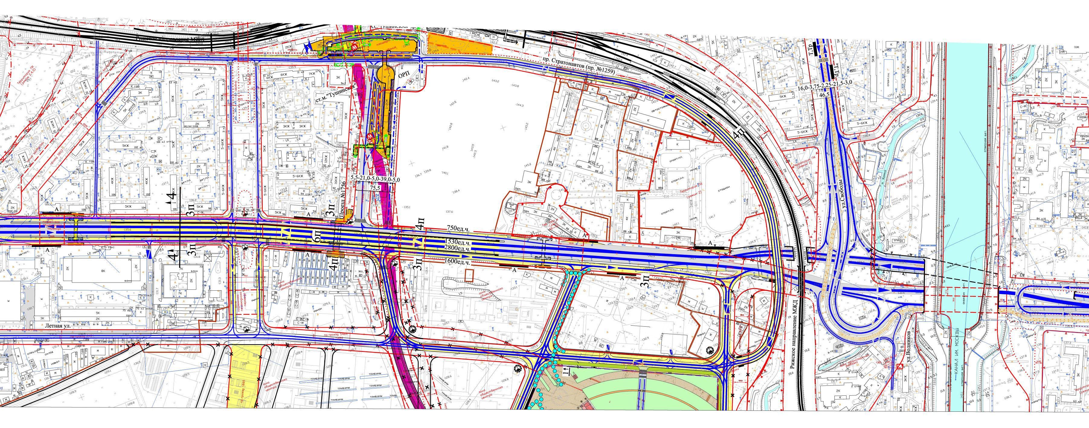 Волоколамское шоссе проект